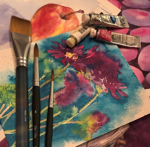 Watercolor Classes