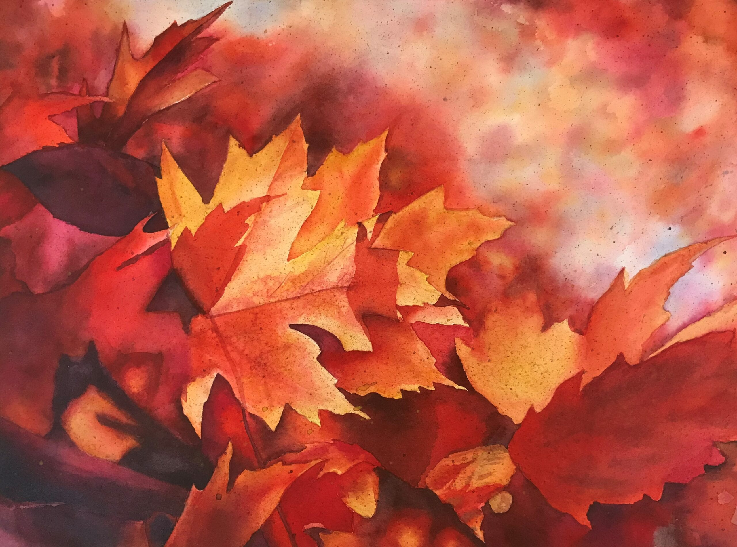 December Watercolor Workshops:  Online