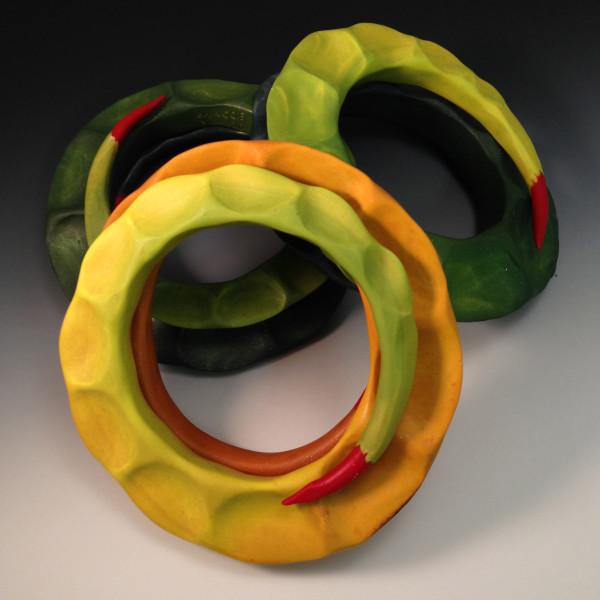 A Trio of Thorn Bracelets